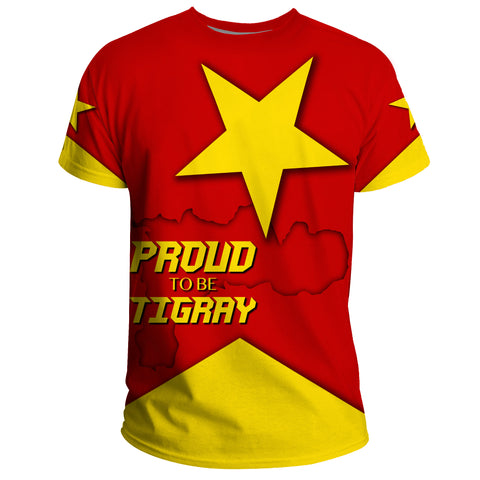1stTheWorld T-Shirt - Proud To Be Tigray