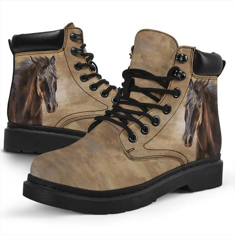 Image of Horse All Season Boots - Bohemian Horse Boots - BN14
