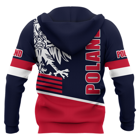 Image of Poland Hoodie (Zip-up) - Great Eagle Style