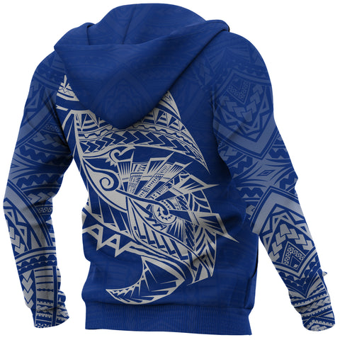 Image of Samoa Tattoo Rugby Style Hoodie K4
