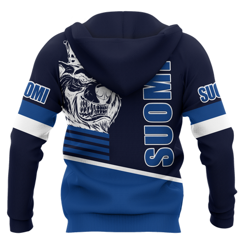Image of Finland Zip-up Hoodie - Great Suomi