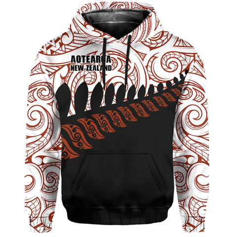 New Zealand Aotearoa Pullover Hoodie Special Ver. A0