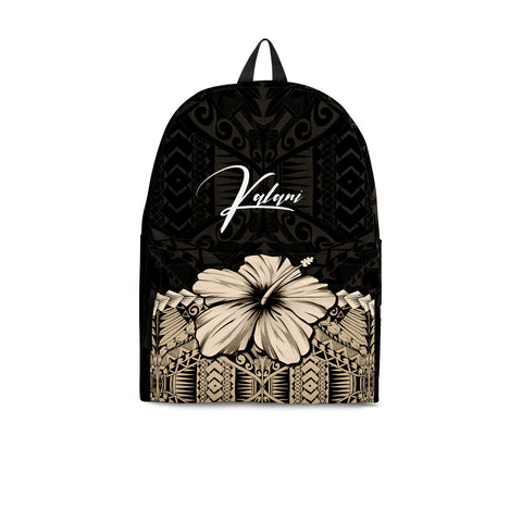 Image of (Custom) Polynesian Backpack Hibiscus Personal Signature A02