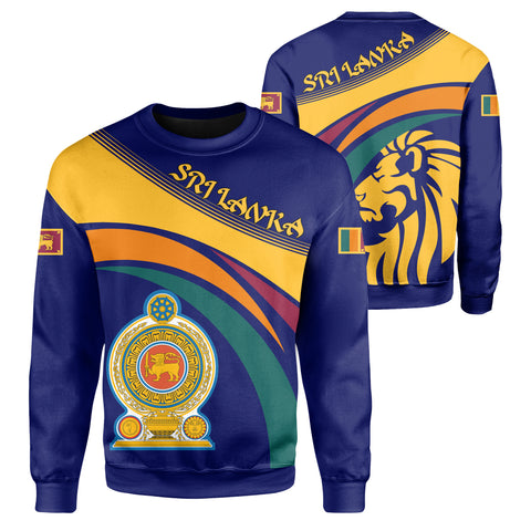Image of Sri Lanka Lion Coat Of Arms Sweatshirt