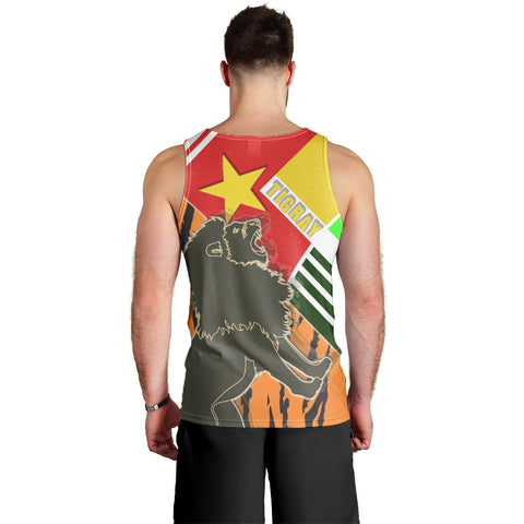 1sttheworld Tigray Men's Tank Top - Tigray Pride - BN21