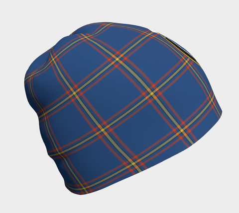 MacLaine of Loch Buie Hunting Ancient Tartan Clan Crest Beanie