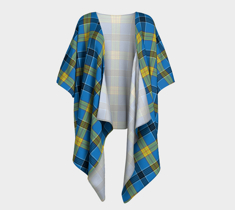 Laing Tartan Draped Kimono - Bn |Women's Clothing| 1sttheworld