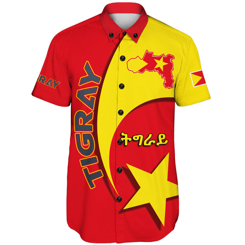 1stTheWorld Tigray Short Sleeve Shirt New Release A25