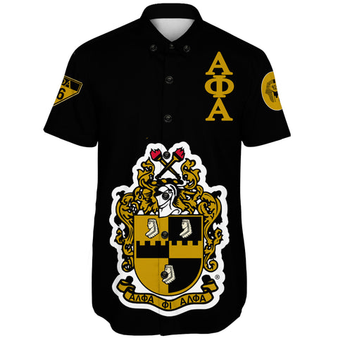 Alpha Phi Alphla Establish 1906  Short Sleeve Shirt A27