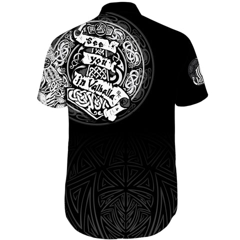 Viking Short Sleeve Shirt - See You In Valhalla A31