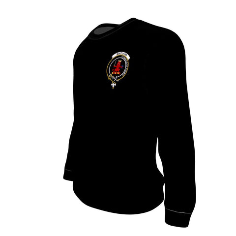 Maitland Tartan Sweatshirt In Me Clan Badge