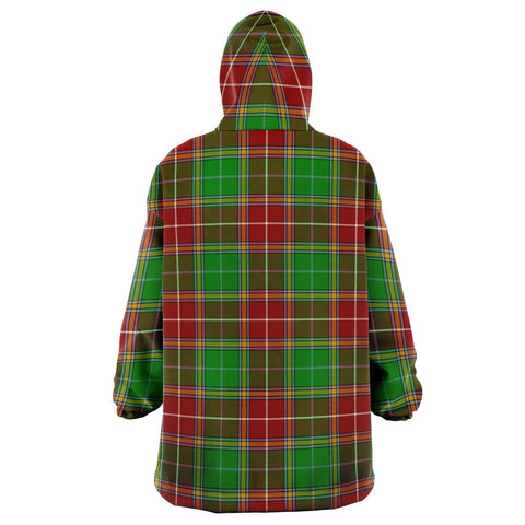 Image of Baxter Modern Snug Hoodie - Unisex Tartan Plaid Back