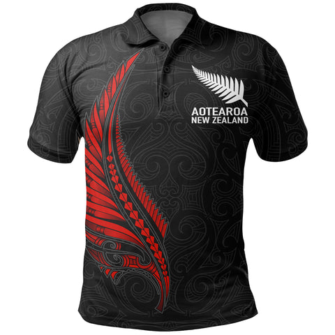 New Zealand Polo Shirt - Spirit and Heart We Are Strong A7