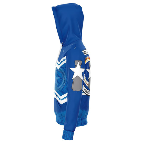 Northern Mariana Islands Hoodie - Warriors Style TH5