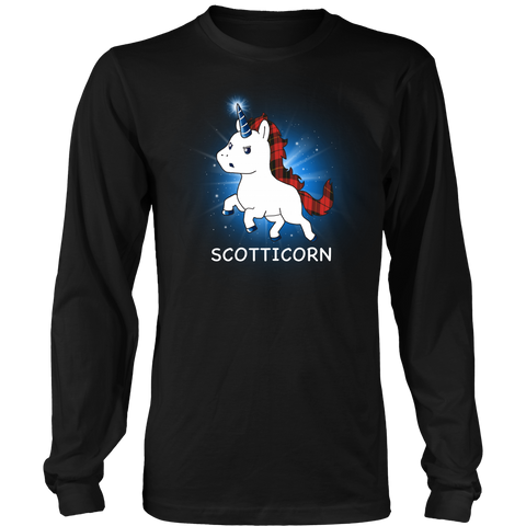 WALLACE TARTAN SCOTTICORN T-SHIRT C1