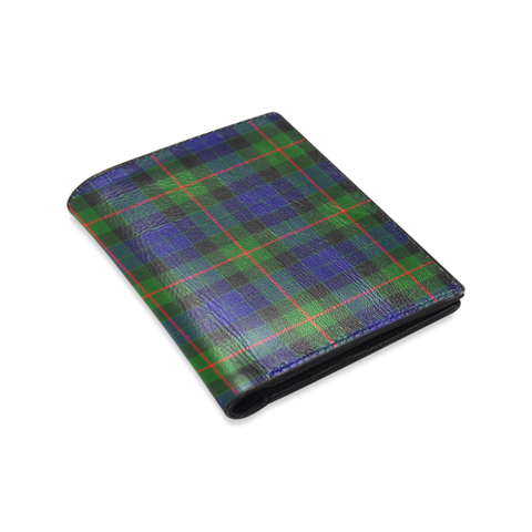 Image of Gunn Modern Tartan Wallet | Leather wallet for men | 1sttheworld