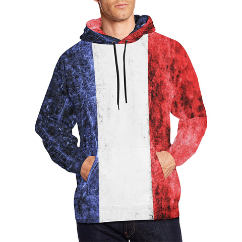France Flag  All Over Print Hoodie A1