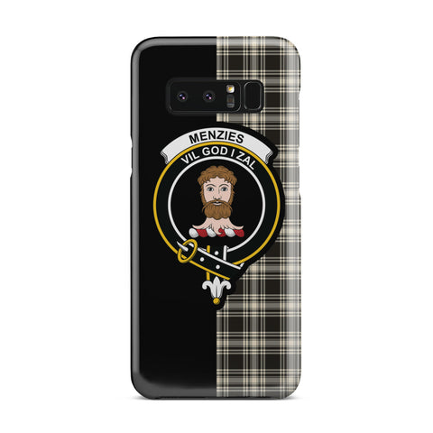 Menzies Black & White Ancient Tartan Phone Case - Half Style Tartan Phone Case - Half Style | 1sttheworld.com