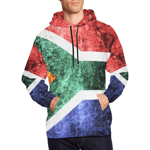SOUTH AFRICA FLAG  ALL OVER PRINT HOODIE A1