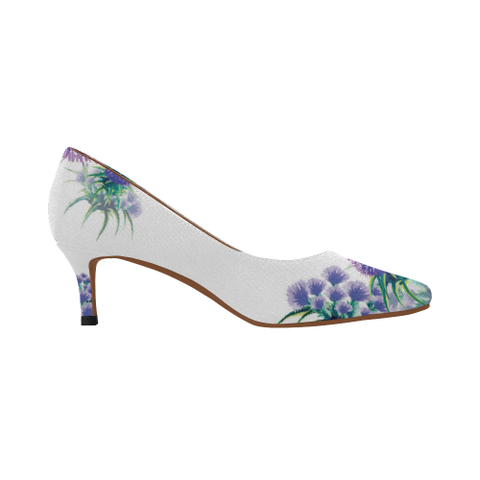 Image of Scotland Low Heel Pumps - Thistle A2