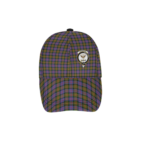 Carnegie Ancient Clan Badge Tartan Dad Cap - BN03