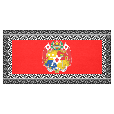 Image of Coat of Arms Tonga Tablecloth