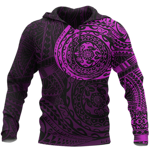 Polynesian Tattoo Style Hoodie Version 2.0 Pink | Men & Women | HOT Sale