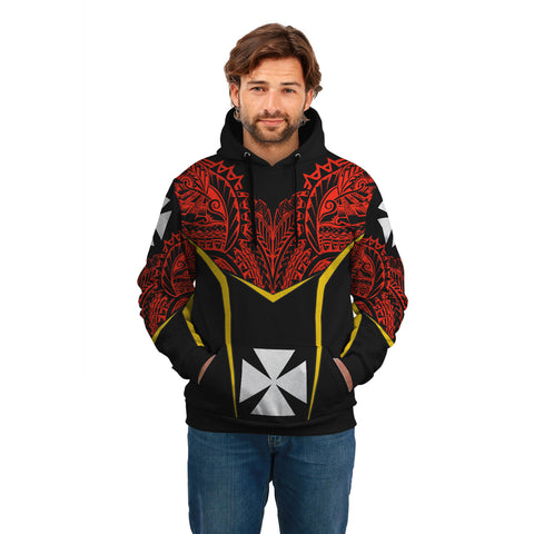 Wallis and Futuna 2 Unisex Hoodie - Tribal Style A7