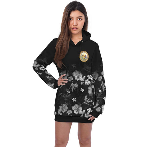 Hawaii Hooodie Dress Special Hibiscus | Women Clothing