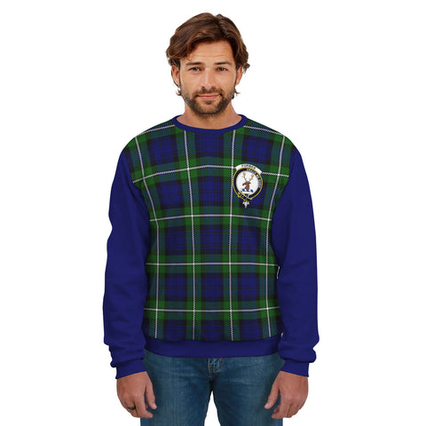 Forbes Clans Tartan All Over Sweater - Sleeve Color