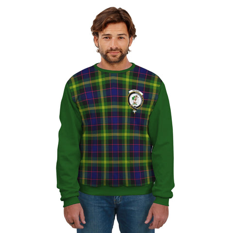 Watson Clans Tartan All Over Sweater - Sleeve Color