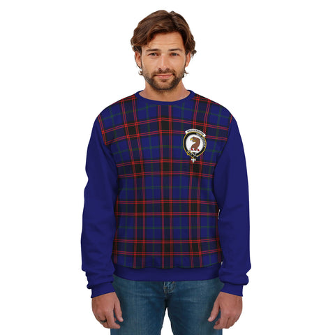 Wedderburn Clans Tartan All Over Sweater - Sleeve Color