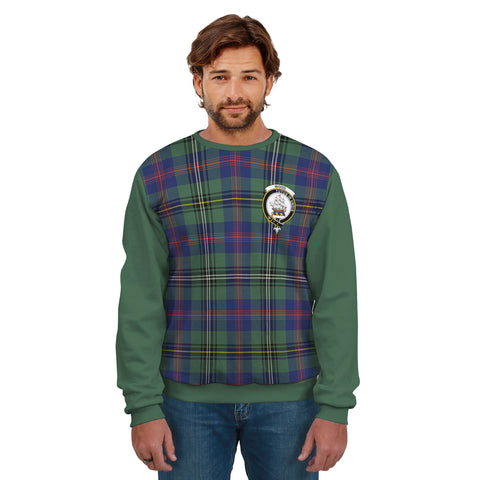 Wood Clans Tartan All Over Sweater - Sleeve Color