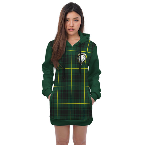 Image of MacArthur Clans Tartan All Over Hoodie - Sleeve Color