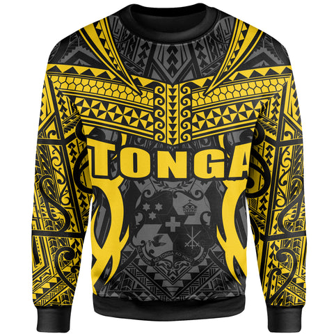 Image of Tonga Sweatshirt - Kingdom of Tonga Black Gold J0