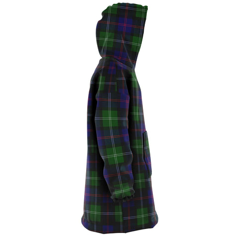 MacThomas Modern Snug Hoodie - Unisex Tartan Plaid Right