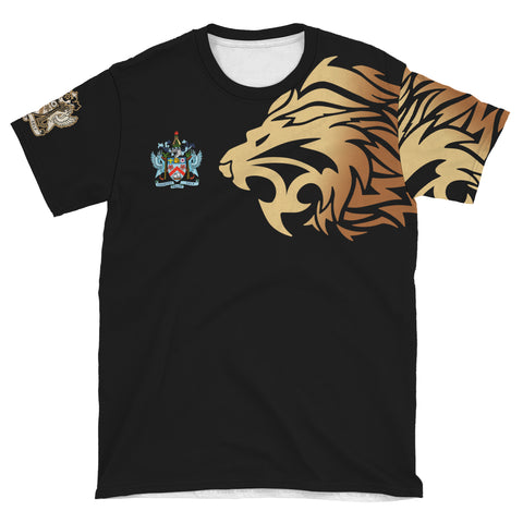 Saint Kitts and Nevis T-Shirts - Lion Style | 1stttheworld