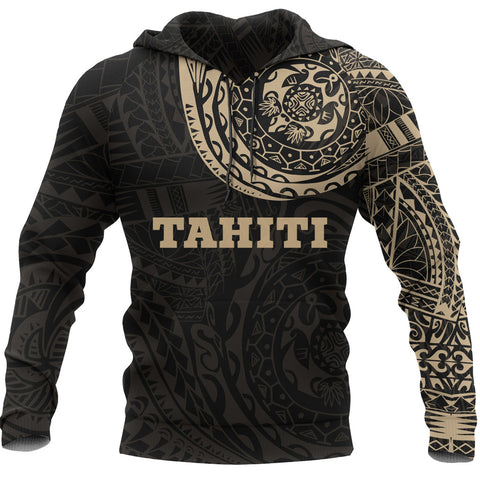 Tahiti Polynesian Tattoo Style Hoodie Version 2.0 A7
