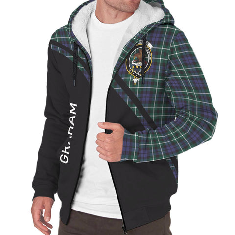 Image of Graham Tartan Hoodie (Sherpa) - Curve Version - BN