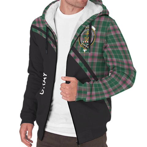 Image of Gray Tartan Hoodie (Sherpa) - Curve Version - BN