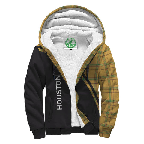 Image of Houston Tartan Hoodie (Sherpa) - Curve Version Front