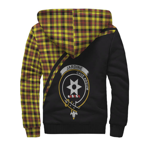 Image of Jardine Tartan Hoodie (Sherpa) - Curve Version Back