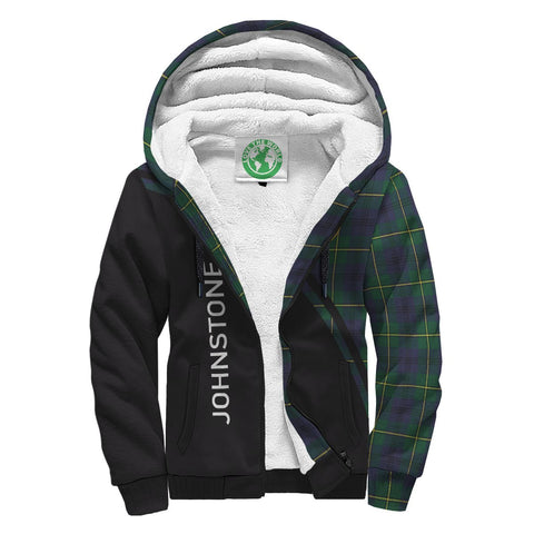 Image of Johnstone Tartan Hoodie (Sherpa) - Curve Version Front