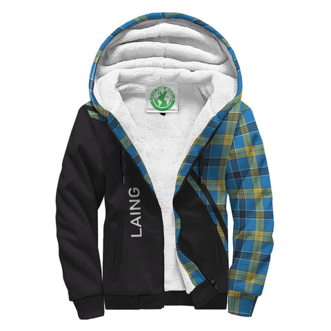 Image of Laing Tartan Hoodie (Sherpa) - Curve Version Front