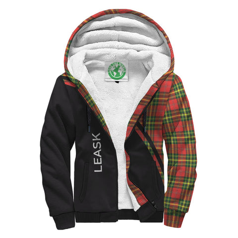 Image of Leask Tartan Hoodie (Sherpa) - Curve Version Front