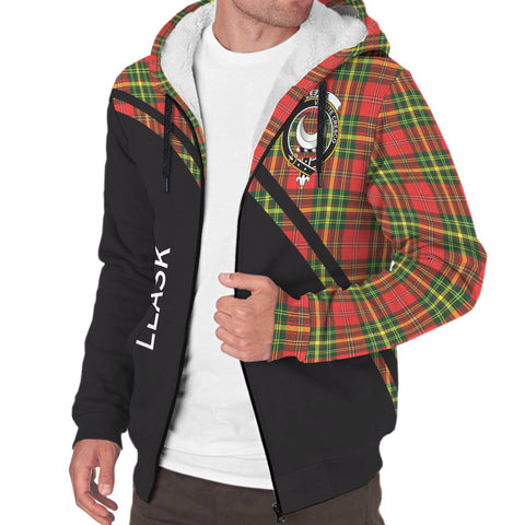 Image of Leask Tartan Hoodie (Sherpa) - Curve Version - BN
