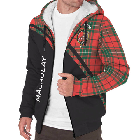 Image of MacAulay Tartan Hoodie (Sherpa) - Curve Version - BN