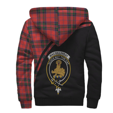 Image of MacGillivray Tartan Hoodie (Sherpa) - Curve Version Back