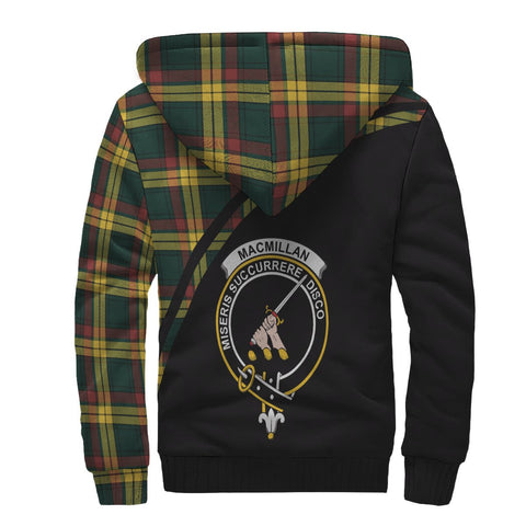 Image of MacMillan Tartan Hoodie (Sherpa) - Curve Version Back