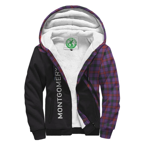 Montgomery Tartan Hoodie (Sherpa) - Curve Version Front